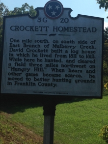 crockett homestead