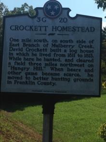 crockett homestead